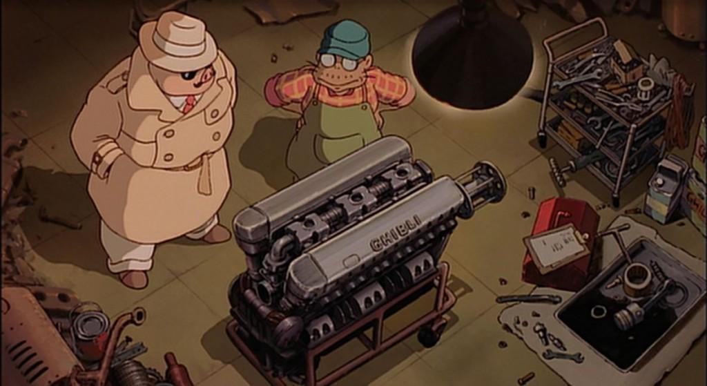 紅の豚 ジブリ エンジン