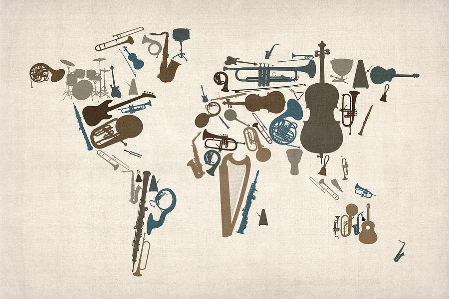 musical map