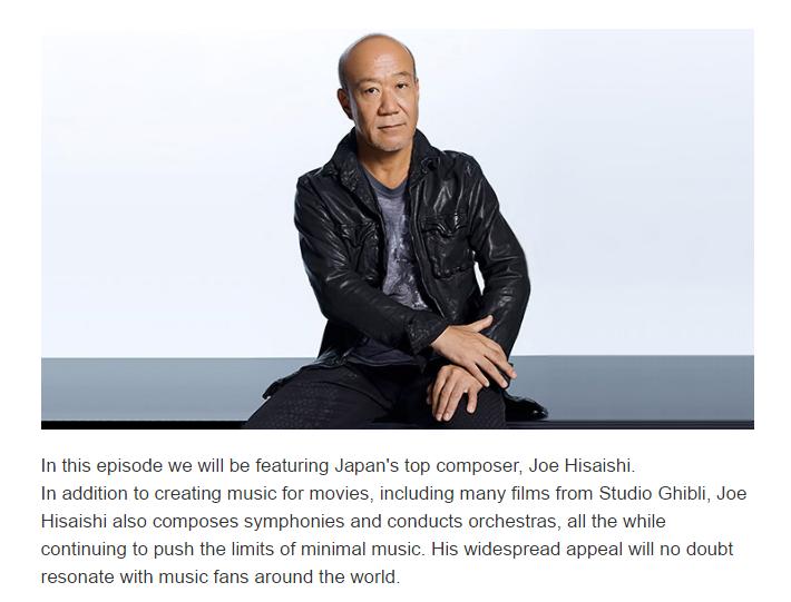 NHK WORLD Joe Hisaishi