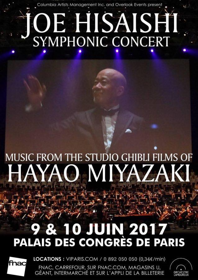 久石譲 パリ コンサート JOE HISAISHI SYMPHONIC CONCERT 2017