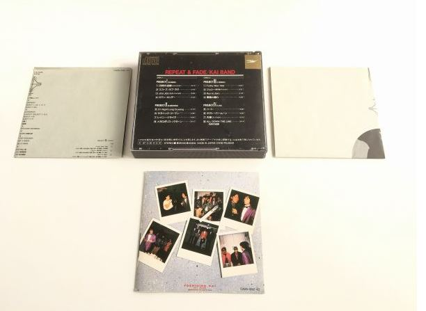 甲斐バンド REPEAT&FADE CD 1986盤 2