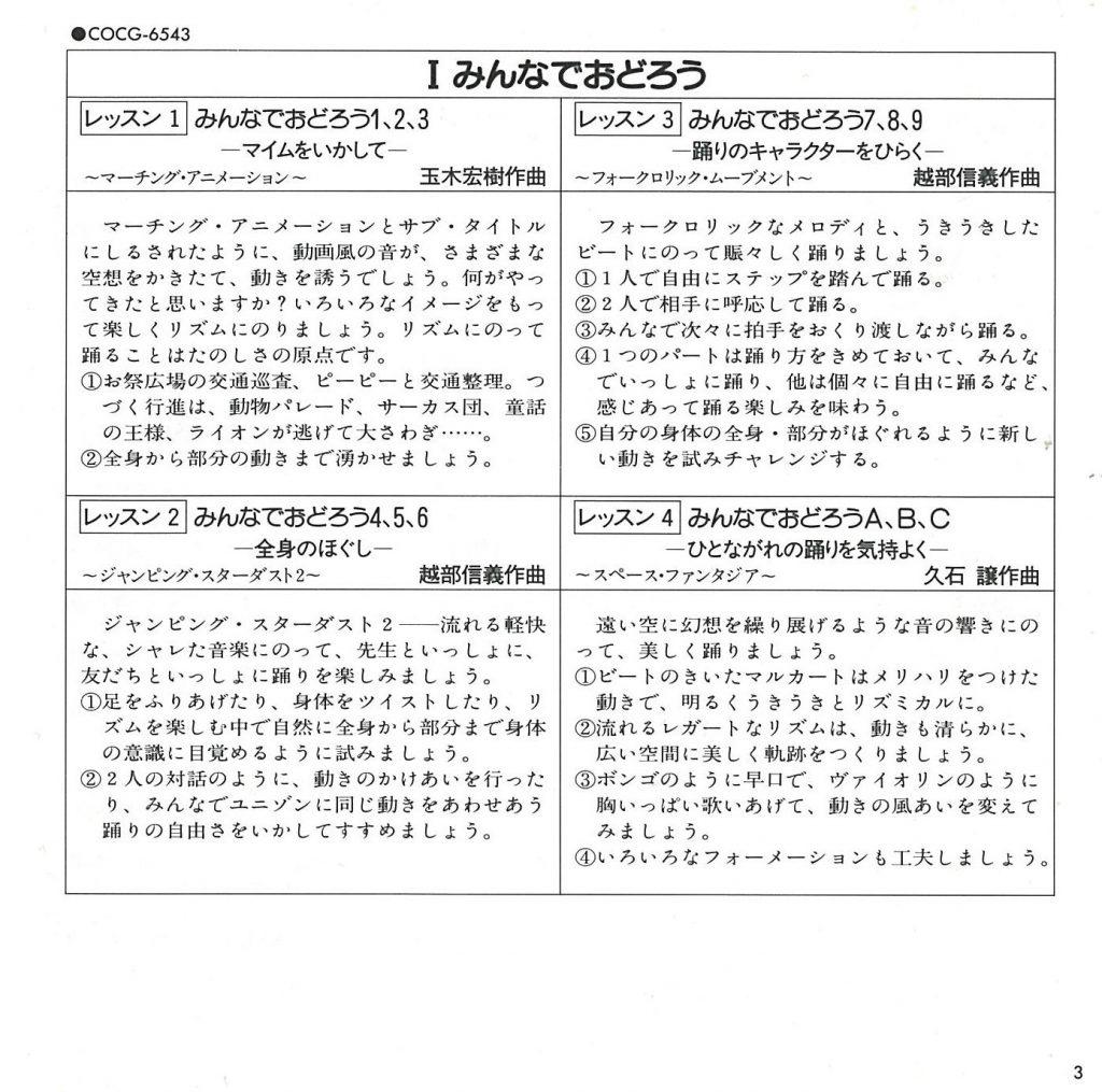 ダンス学習法・エチュード I ダンス学習法(1) sc 3